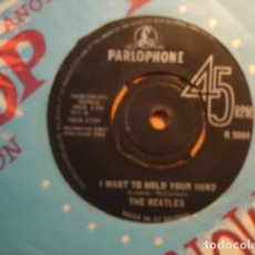 Discos de vinil: THE BEATLES I WANT TO HOLD YOUR HAND. Lote 227142861