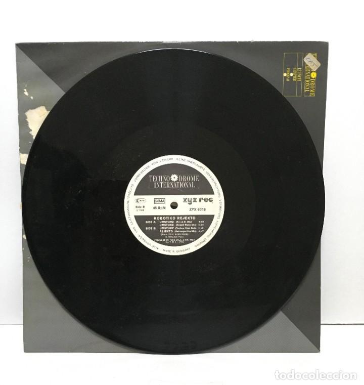 ROBOTIKO REJEKTO – UMSTURZ JETZT! - 1988 (Música - Discos de Vinilo - Maxi Singles - Electrónica, Avantgarde y Experimental)