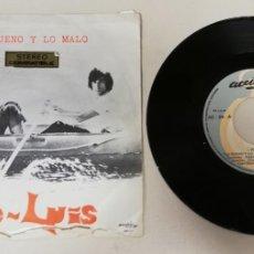 """Disques de vinyle: 1120-JOE LUIS LO BUENO Y LO MALO - VIN 7"""" POR F DIS VG. Lote 227144220"""