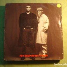 Discos de vinilo: PET SHOP BOYS SO HARD. Lote 227144227