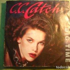 Discos de vinilo: C.C. CATCH BIG TIME. Lote 227144870