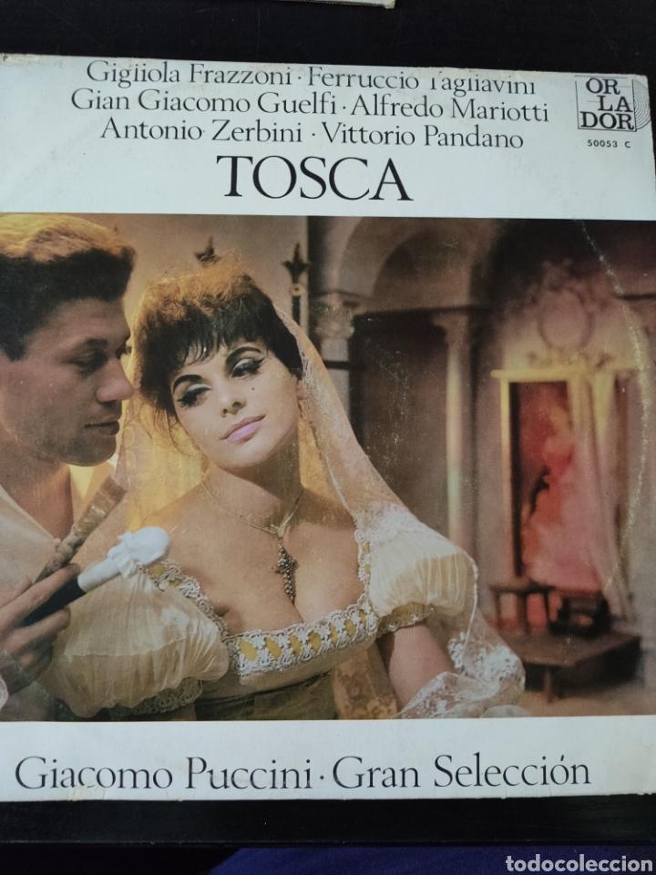 TOSCA PUCCINI (Música - Discos de Vinilo - EPs - Clásica, Ópera, Zarzuela y Marchas)