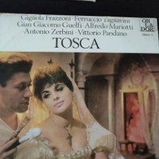 Discos de vinilo: TOSCA PUCCINI. Lote 227153090