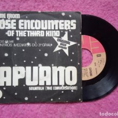 Discos de vinilo: SINGLE CAPUANO - CLOSE ENCOUNT OF THE THIRD KIND - E 006-77 009 - PORTUGAL PRESS (VG+/NM) BSO. Lote 227187800