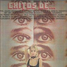 Discos de vinilo: EXITOS DE 1972 TARANTO, NUEVA DEMOCRACIA JULIAN GRANADOS). Lote 227190570