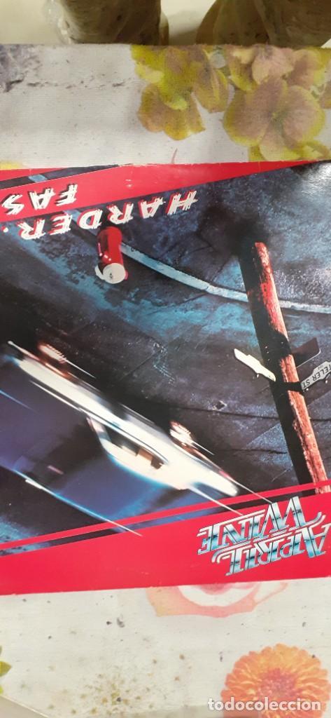 APRIL WINE-HARDER FASTER (Música - Discos - LP Vinilo - Heavy - Metal)