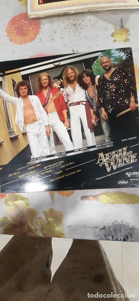 Discos de vinilo: APRIL WINE-HARDER FASTER - Foto 2 - 227200595