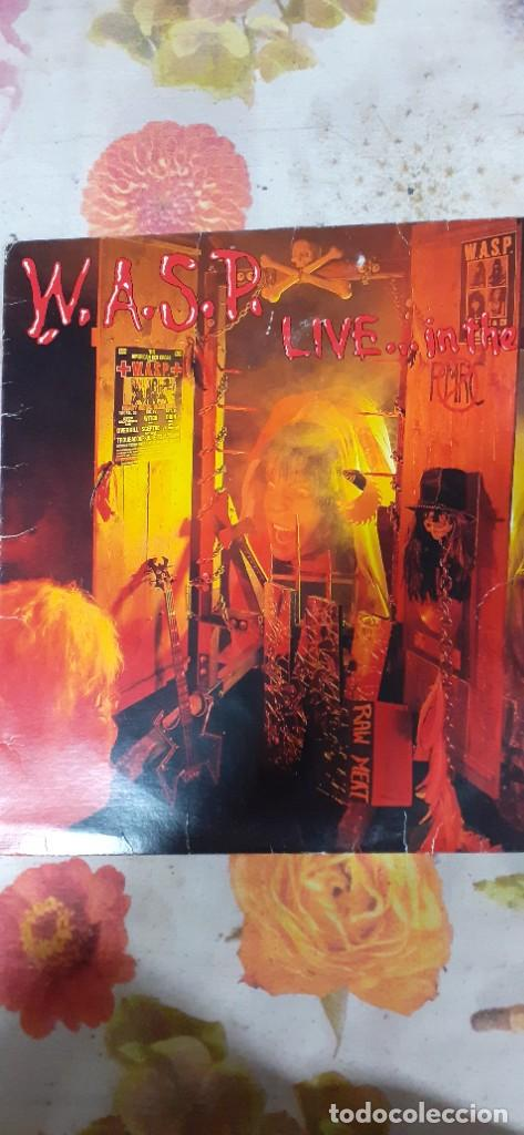 W.A.S.P. LIVE IN THE RAW (Música - Discos - LP Vinilo - Heavy - Metal)