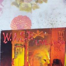 Discos de vinilo: W.A.S.P. LIVE IN THE RAW. Lote 227200995