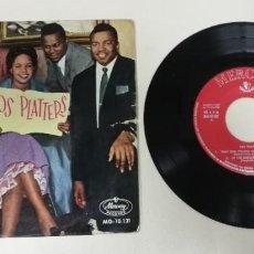 "Discos de vinilo: 1120- LOS PLATTERS THAT OLD FEELING - VIN 7"" POR G DIS VG. Lote 227205575"