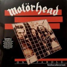 Discos de vinilo: MOTORHEAD ON PAROLE (2XLP) . REEDICIÓN VINILO LEMMY HEAVY METAL HARD ROCK AND ROLL. Lote 227205800