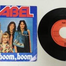 """Discos de vinilo: 1120- MABEL BOOM BOOM - VIN 7"""" POR G+ DIS VG+. Lote 227208585"""