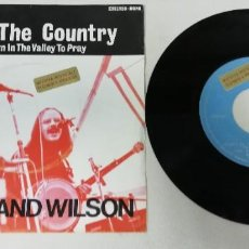 """Discos de vinilo: 1120- SAVE THE COUNTRY DOWN IN THE VALLEY TO PRAY - VIN 7"""" POR VG DIS NM. Lote 227213620"""
