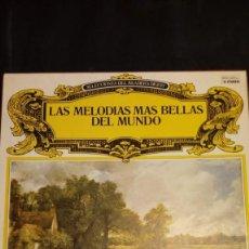 Discos de vinilo: LAS MELODÍAS MÁS BELLAS DEL MUNDO COLECCIÓN DE 8 LP. Lote 227215390