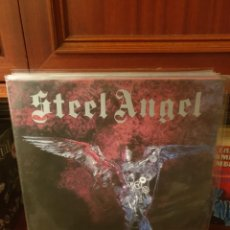 Discos de vinilo: STEEL ANGEL / ...AND THE ANGELS WERE MADE OF STEEL / DEVIL RECORDS 1985. Lote 227217290