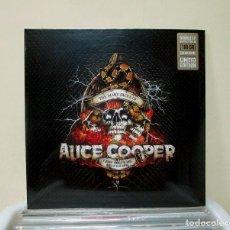 Discos de vinilo: ALICE COOPER - THE MANY FACES OF - 2 LP COLOR VINYL LIMITED EDITION FRANCE 2019 - NUEVO PRECINTADO. Lote 227219395