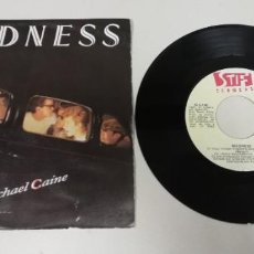 "Discos de vinilo: 1120- MADNESS MICHAEL CAINE- VIN 7"" POR VG DIS VG+. Lote 227221665"