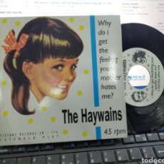 Discos de vinilo: THE HAYWAINS EP WHY DO I GET THE FEELING YOUR MOTHER HATES ME? + 3 ELEPHANT RÉCORDS 1995. Lote 227225590