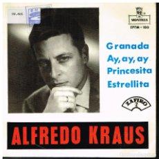Discos de vinilo: ALFREDO KRAUS - GRANADA + 3 - EP 1959. Lote 227226310