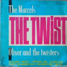 Discos de vinilo: EP THE MARCELS/OLIVER AND THE TWISTERS. Lote 227227855
