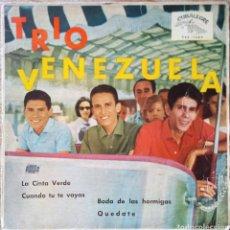 Discos de vinilo: EP TRIO VENEZUELA. Lote 227234825
