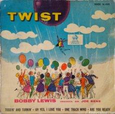 Disques de vinyle: EP BOBBY LEWIS. Lote 227236970