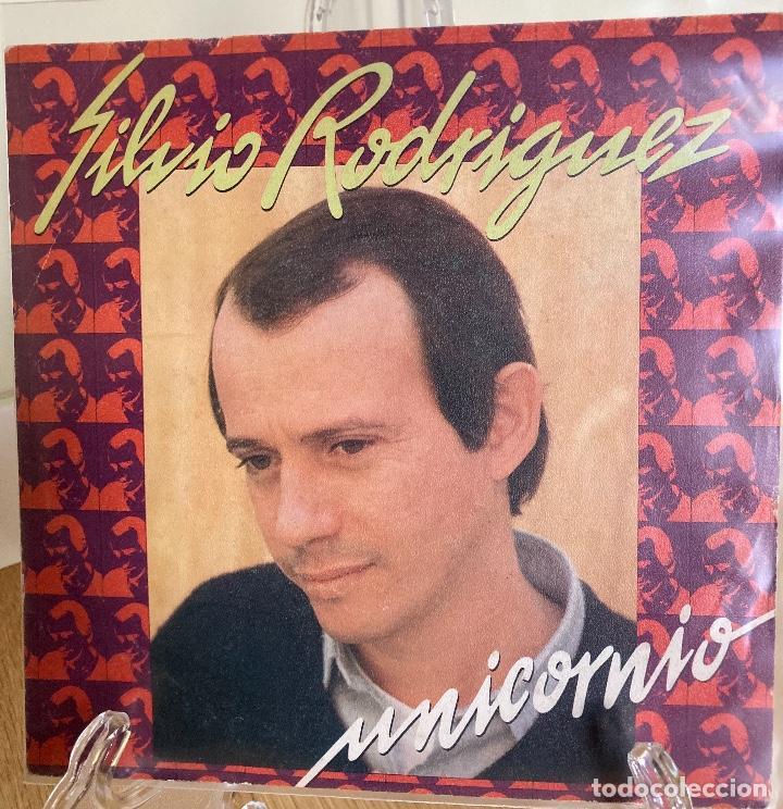 SILVIO RODRIGUEZ, UNICORNIO. (Música - Discos - Singles Vinilo - Cantautores Extranjeros)