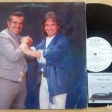 Discos de vinilo: VICENTE FERNÁNDEZ - ROBERTO CARLOS. Lote 227261410