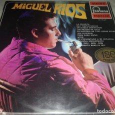Discos de vinilo: MIGUEL RIOS CON LOS SONOR Y LOS RELAMPAGOS-RARA EDICION ORIGINAL FONTANA 1969-MUY BUEN ESTADO. Lote 227264225