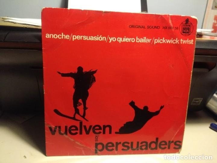EP THE PERSUADERS ( VUELVEN LOS PERSUADERS ) : ANOCHE + 3 (Música - Discos de Vinilo - EPs - Pop - Rock Extranjero de los 50 y 60)
