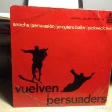 Discos de vinilo: EP THE PERSUADERS ( VUELVEN LOS PERSUADERS ) : ANOCHE + 3. Lote 227274525