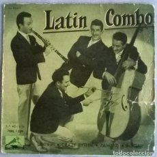 Discos de vinilo: LATIN COMBO. LE RIFIFI/ CRAZY RYTHM/ ZAMBEZI/ ROGAR. LA VOZ DE SU AMO, SPAIN 1958 EP. Lote 227274820