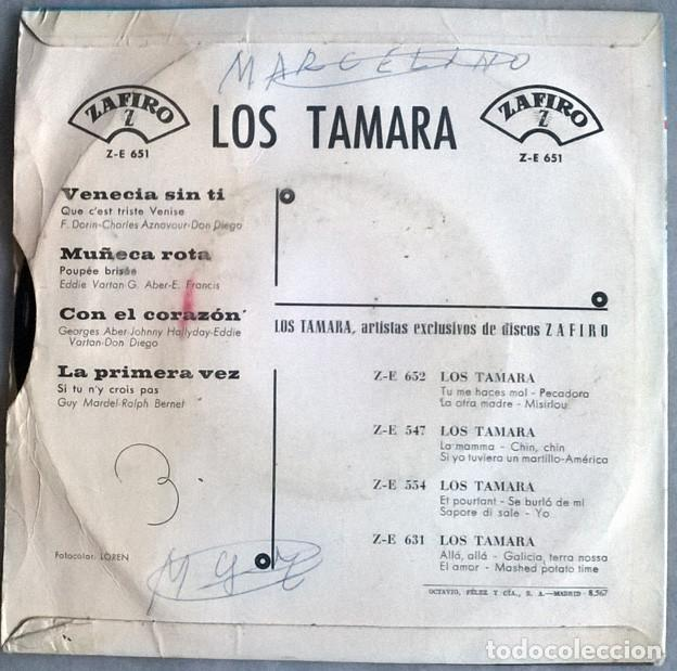 Discos de vinilo: Jacques Brel. Les toros/ Les fentres/ La fanett/ Les vieux. Barclay, France 1963 ep - Foto 4 - 227278290