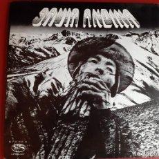 Discos de vinilo: SAVIA ANDINA VOL III - GRABADO EN LA PAZ 1977. Lote 227278765