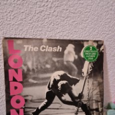 Discos de vinilo: THE CLASH-LONDON CALLING. 2 LP. Lote 227280275