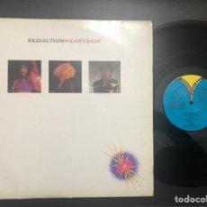 Discos de vinilo: SEDUCTION – HEARTBEAT. Lote 227446200