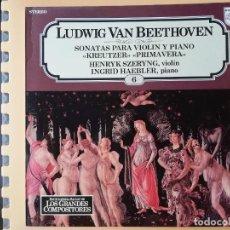 Disques de vinyle: ENCICLOPEDIA SALVAT DE LOS GRANDES COMPOSITORES. Nº 6 - LUDWIG VAN BEETHOVEN. Lote 242928485