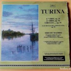 Discos de vinilo: 1ER TRÍO, OP. 35. 2º TRIO, OP. 76. CÍRCULO..., OP. 91. LAS MUSAS DE ANDALUCÍA OP. 93. TRÍO DE MADRID. Lote 227449787