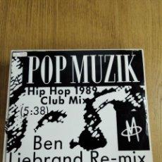 Discos de vinilo: MAXI SINGLE VINILO POP MUZIK. Lote 227457960