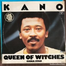 Discos de vinilo: KANO - QUEEN OF WITCHES - 12'' MAXISINGLE TELDEC 1983. Lote 227460055