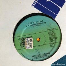 Discos de vinilo: KELLEE PATTERSON - LET GO, LET GO - 12'' MAXISINGLE SHADYBROOK 1979. Lote 227460875