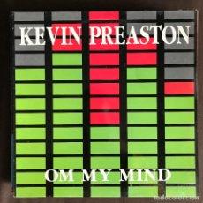 Discos de vinilo: KEVIN PREASTON - ON MY MIND - 12'' MAXISINGLE BOY 1994. Lote 227461311