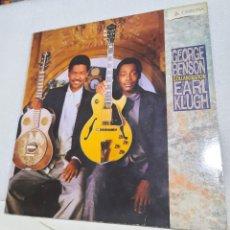 Discos de vinilo: GEORGE BENSON & EARL KLUGH - COLLABORATION. Lote 227463500