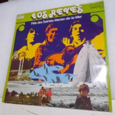 Discos de vinilo: LOS REYES - FÊTE DES SAINTES. Lote 227463785