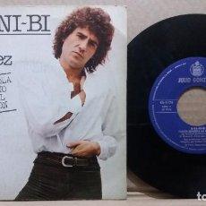 Discos de vinilo: JULIO GONZALEZ / A-BA-NI-BI / SINGLE 7 INCH. Lote 227465485