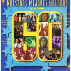 Discos de vinilo: NUESTRAS MEJORES BALADAS. LOS 60 - BRUNO LOMAS / LOS Z.66 / LONE STAR / PIC NIC, ETC - DOBLE LP 1991. Lote 227470325