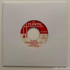 Dischi in vinile: LED ZEPPELIN-CANCION DEL INMIGRANTE/HEY,HEY QUE PUEDO HACER/SINGLE 1970 ATLANTIC H-671,ESPAÑA.. Lote 227491450