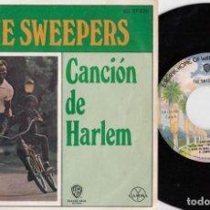 Discos de vinilo: THE SWEEPERS - HARLEM SONG - EP DE VINILO EDICION MEJICANA #. Lote 227505270