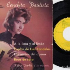 Discos de vinilo: CONCHITA BAUTISTA - A LA LIMA Y AL LIMON - EP DE VINILO - IBEROFON #. Lote 227548870