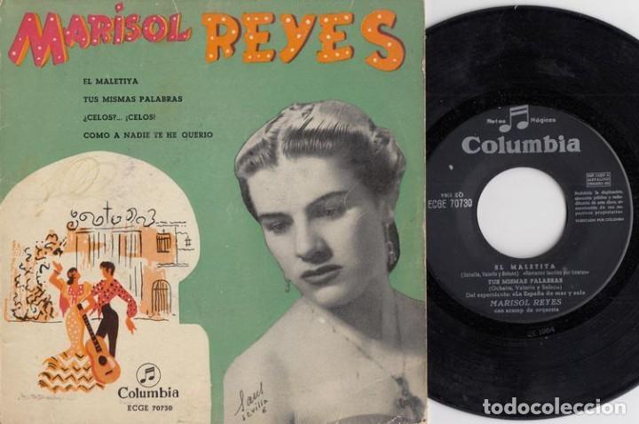 MARISOL REYES EL MALETIYA / TUS MISMAS PALABRAS / CELOS / COMO A NADIE TE HE QUERIDO EP DE VINILO # (Música - Discos de Vinilo - EPs - Flamenco, Canción española y Cuplé)